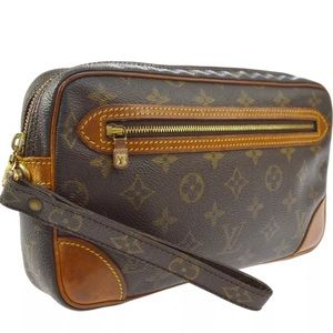 LOUIS VUITTON MARLY DRAGONNE CLUCTH